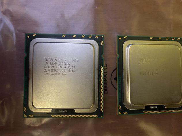 Intel xeon 8 core totali 2 x 2,4 ghz - e5620