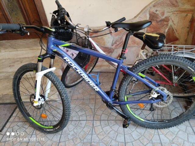 Mtb rockrider st 540 v2 con pedali spd shimano