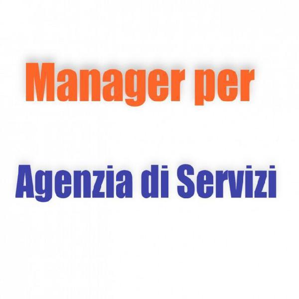 Manager per azienda servizi