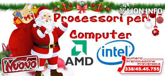 Processori per computer intel 1151, 1200 e amd am3, 4