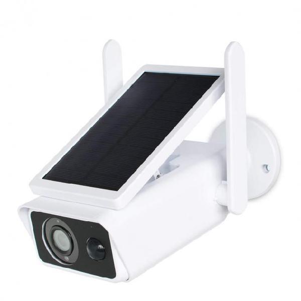 Telecamera ip wifi 717222 con ricarica solare videocamera