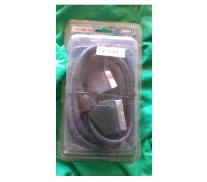 Cavo video audio scart - 3mt - bari