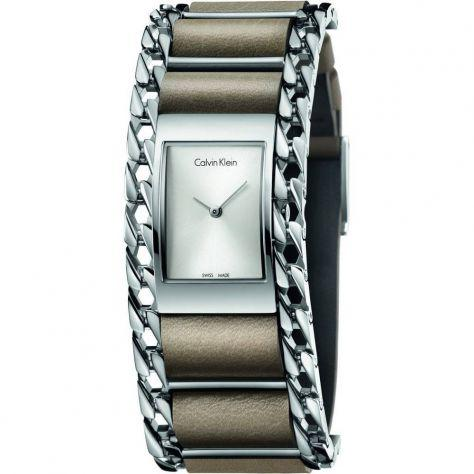 Calvin klein orologio fashion da donna impecable k4r231x6