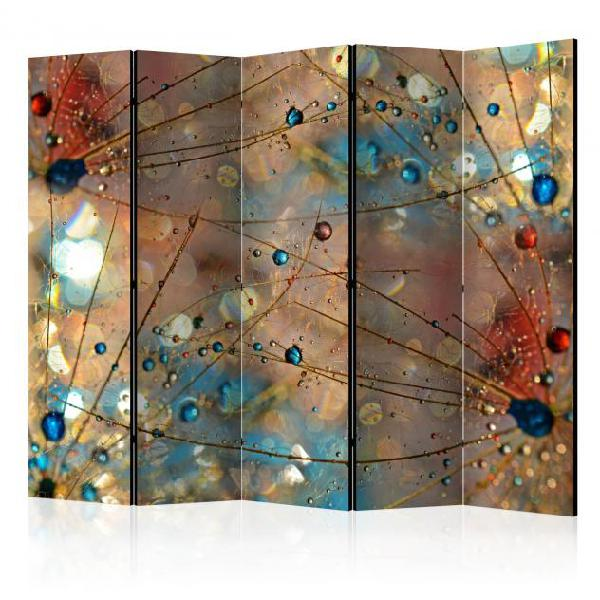 Paravento 5 pannelli - magical world ii 225x172cm erroi
