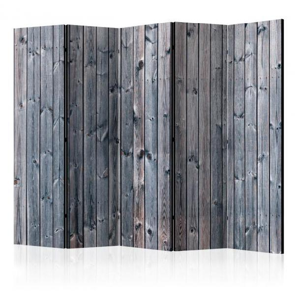 Paravento 5 pannelli - rustic elegance ii 225x172cm erroi