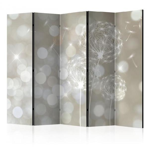 Paravento 5 pannelli - the ballad of beauty ii 225x172cm