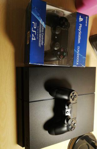 Play station 4 ps nera 500 gb