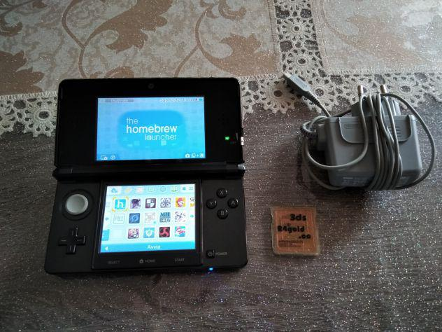 Vendo nintendo 3ds con homebrew