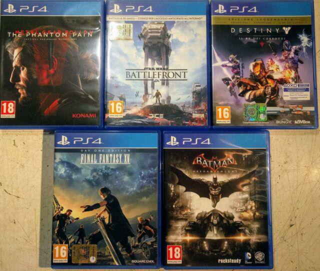 5 giochi per ps4 playstation 4 sony