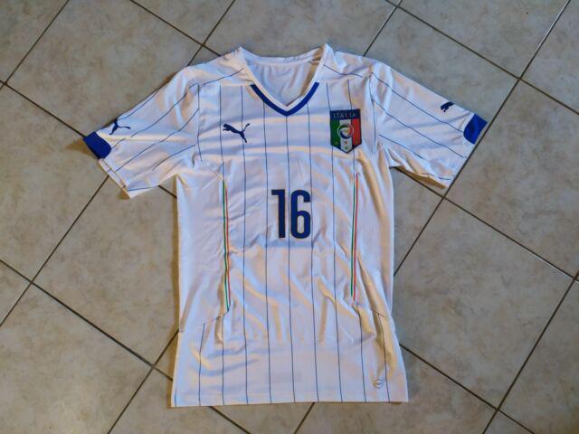 Maglia italia 16 de rossi mondiali 2014 puma