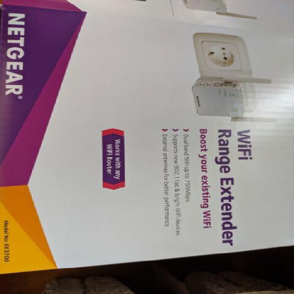 Netgear ex3700-100pes ripetitore wifi 750 mbps