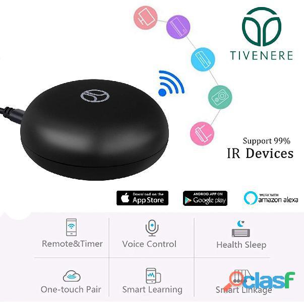 Ir controller smart home hub tivenere telecomando universale wifi a infrarossi compatibile con alexa