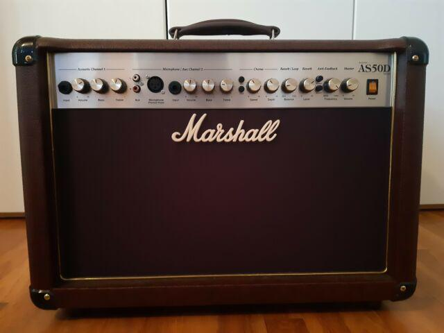"""Marshall as50d soloist amplificatore 50 w 2x8"""""""