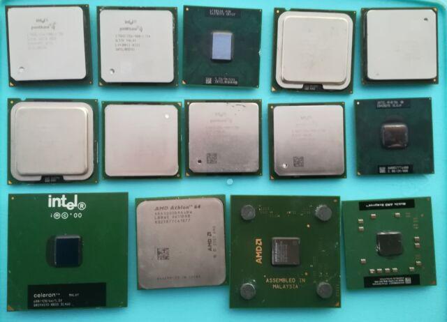 Processori computer pc di varia tipologia