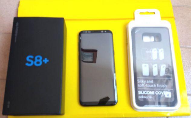 "Samsung s8 +total black ""pari al nuovo"""