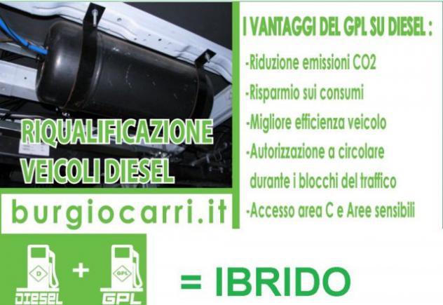 Iveco daily impianto gpl per motori diesel diventa ibrido