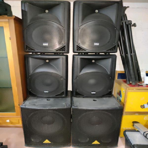 Impianto audio completo