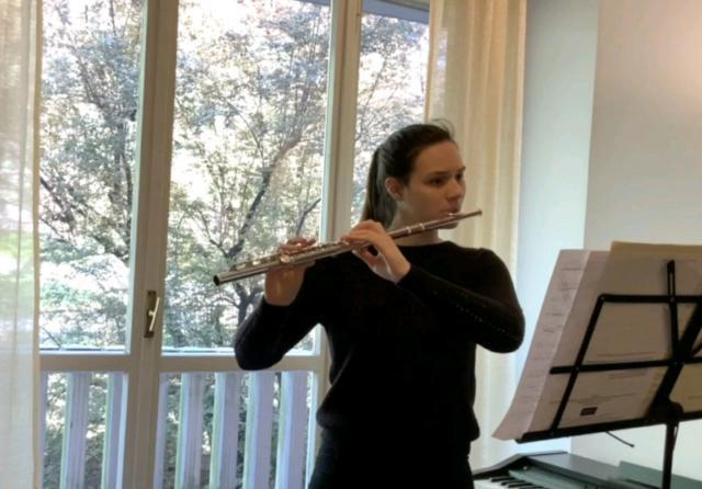 Lezioni di flauto traverso e teoria/solfeggio