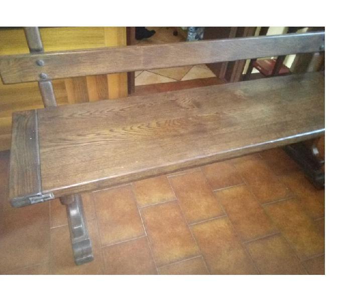 Panche legno massello(rustiche) in vendita desio - vendita mobili usati