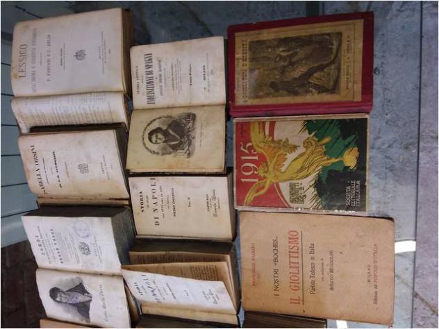 Libri antichi vari titoli e argomenti