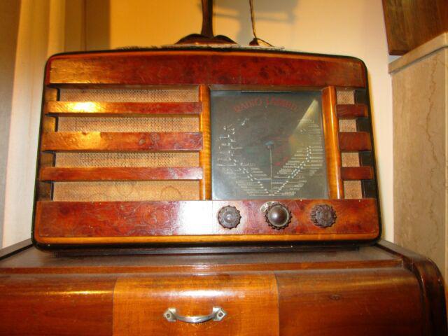 """Rara radio anni 20/30 """"radio lambda"""""""