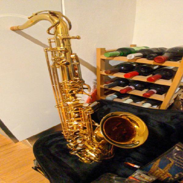 Sax tenore jupiter jts 587 gl + custodia rigida + tracolla