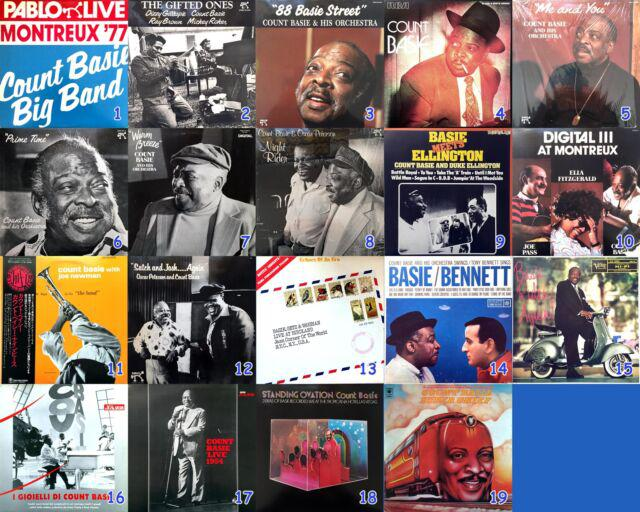 Count basie, serie di vinili jazz rari