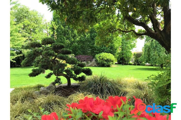 Porzione di bifamiliare nuova con giardino privato