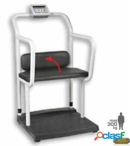 Kinemed - bilancia per obesi a sedia con piattaforma a seduta con corrimano