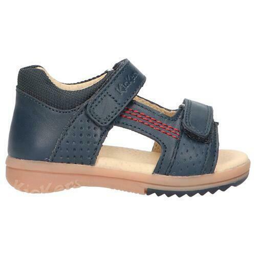 Kickers sandali bambino azzurro