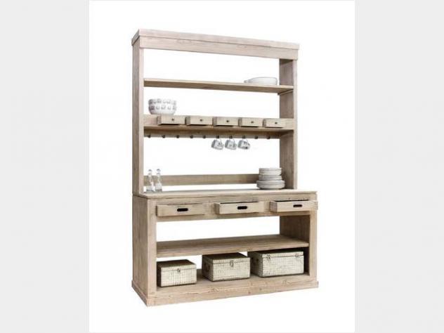 Mobile bar legno massello nuovo art.bk165