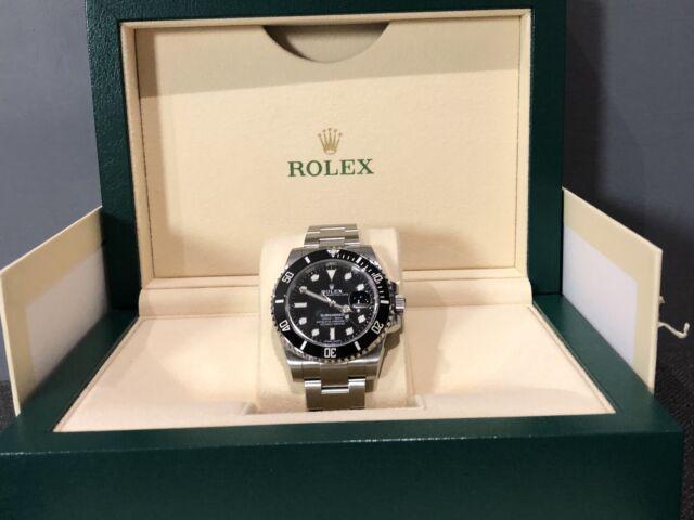 Rolex subamriner data ref 116610ln nuovo 2020