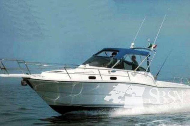 Zeta craft mixer 28 cabin - natante diesel – perfette