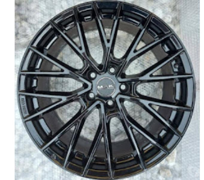 4 Cerchi MAK black gloss Roma - Ricambi e accessori auto in vendita