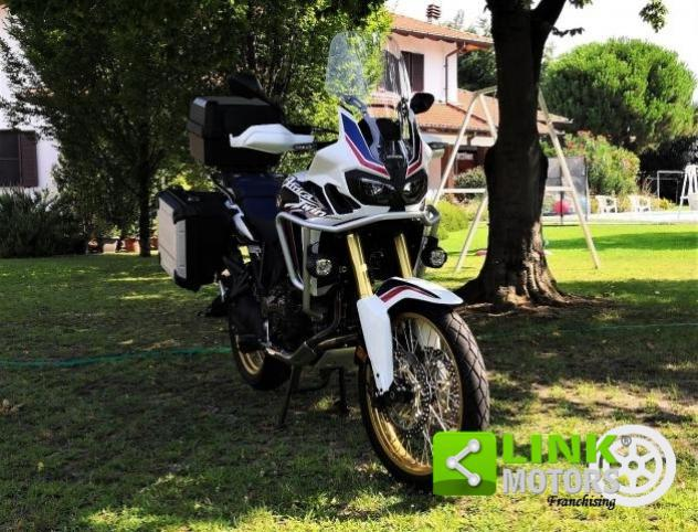 Honda africa twin crf 1000 dct abs - pari al nuovo