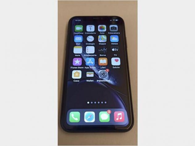 Iphone xr. 64 gb. black usato