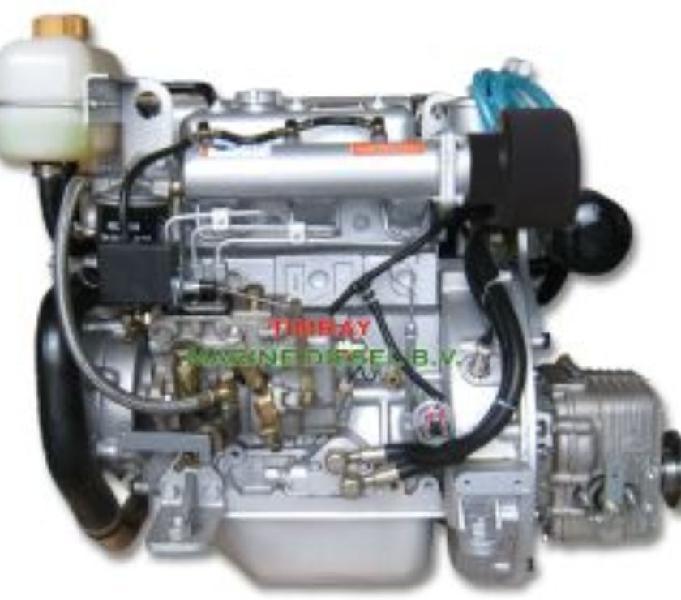 Motore marino per barca entrobordo diesel hp 27 nuovo roma - barche usate occasione