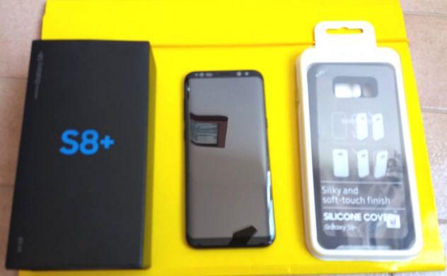 "Samsung s8 + total black ""pari al nuovo"""