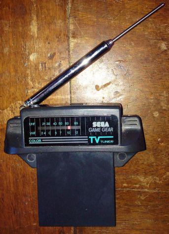 Sega Game Gear adattatore TV Tuner gioco cartuccia retro