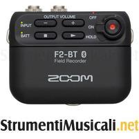 ZOOM F2-BT Field Recorder Bluetooth & Lavalier Microphone