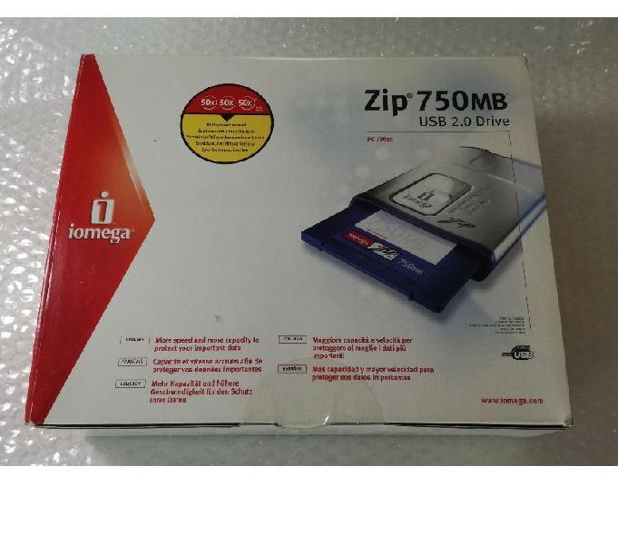 Iomega 750 mb usb zip drive nuovo no samsung no apple bari