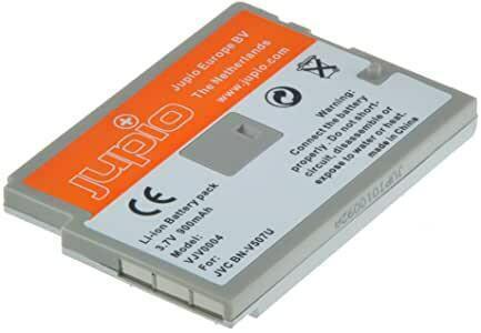 Jupio vjv0004 batteria per jvc bn-v507, nero