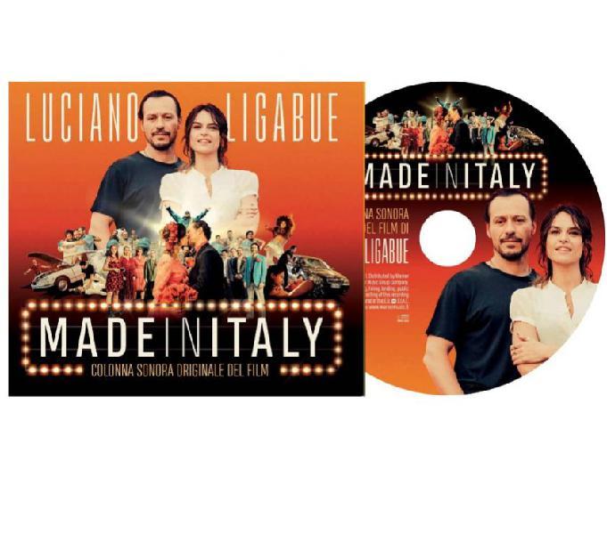 Ligabue colonna sonora del film made in italy raro mezzolombardo