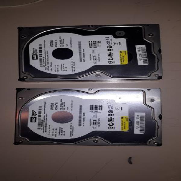 2 x Western Digital 250GB PATA WD2500 7200RPM
