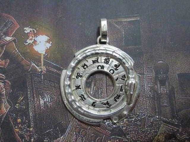 Assassin's Creed Origins ciondolo Talismano serpente argento