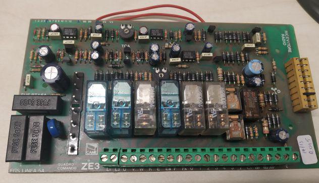 Centralina scheda elettronica came ze3 per basculanti