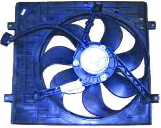 Elettroventola diametro 355 per volkswagen golf iv dal 1997
