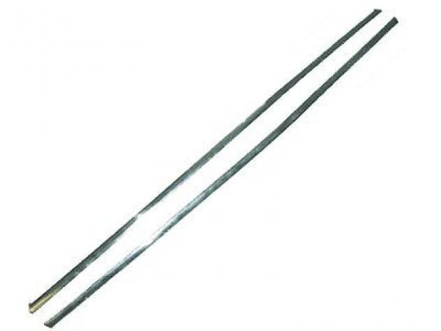 Modanatura sottoporta alluminio (coppia) per fiat 500 dal