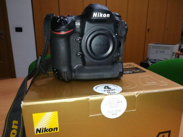 Nikon D4 Nital nuovissima 14.000 scatti