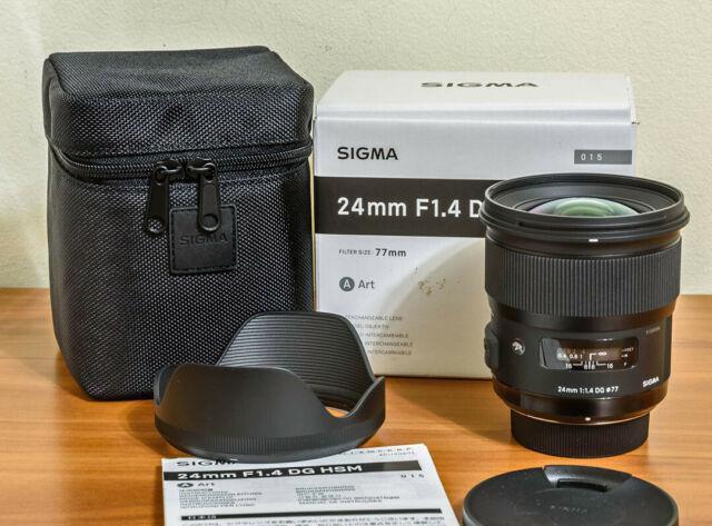 Sigma Art 24mm f 1,4 per Nikon nuovissimo